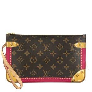 Louis Vuitton Summer Trunk Neverfull MM Pochette
